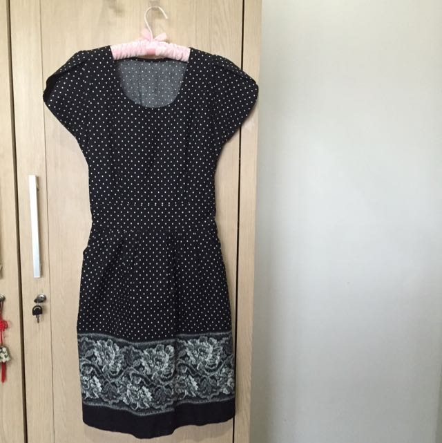 Unbranded Casual Polkadot Dress