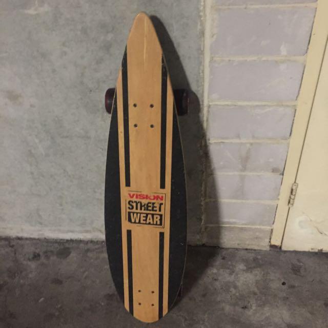Vintage Vision Street Wear Skateboard