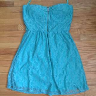 Pretty Teal Dress NWOT