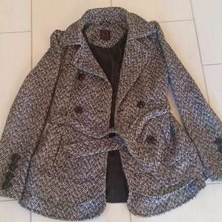 Material Girl Dress Coat-Xsmall