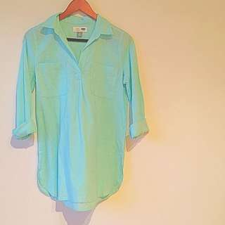 Bright Baby Blue Dress Size S (Fits Like A Medium)
