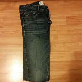 Hollister Blue Navy Jeans