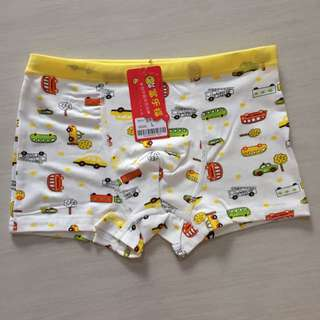 Kids Boy Underwear Car Design