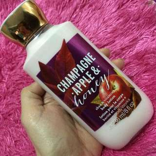 Bath And Body Works Champagne Apple And Honey Body Lotion