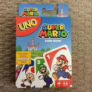 Super Mario Uno Card Game BRAND NEW