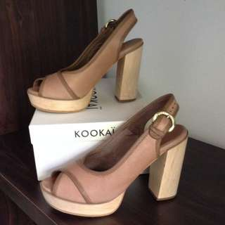Kookai Leather Shoes