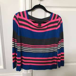 Marc By Marc Jacobs Stripped Top