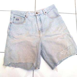 (reprice!) Short Pants Denim Lee Jeans