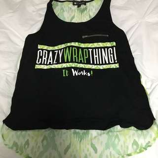 Black And Green Tank