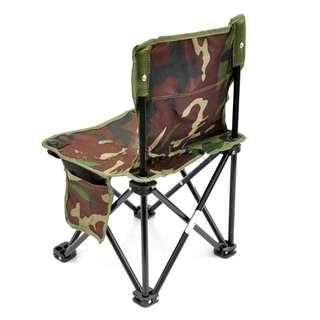 Kursi Lipat Kotak Desain Army - Army Green