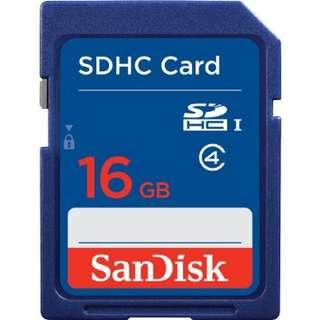 SanDisk Standard SDHC Card Class 4 16GB - SDSDB-016G-BQ35