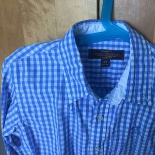 Sacoor Brother Long Sleeve Checked Shirt