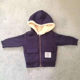 Wooly Warm Navy Jacket