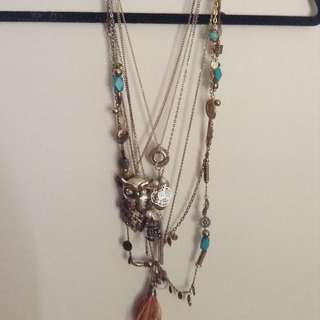 Assorted Equip And Lovisa Necklaces