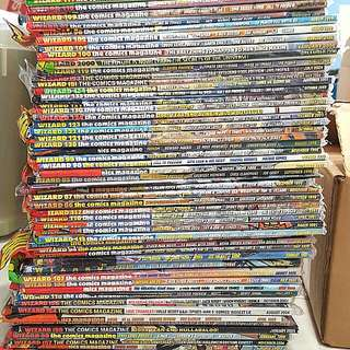 Wizard The Comics Magazines