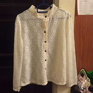 Workwear Lace Top