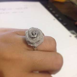 New Korean Fashion Wire Rose Ring