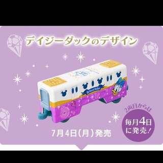 🇯🇵東京迪士尼海洋15周年紀念tomica多美車單軌列車車廂黛西款