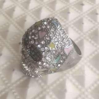 Pastel Coloured Skull Ring