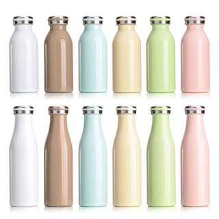 日本mosh同款牛奶瓶不鏽鋼保溫保冷杯隨身杯水壺水杯