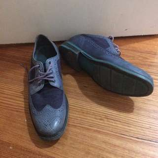 Cole Haan limited edition leather and suede wingtips with Nike Air sole