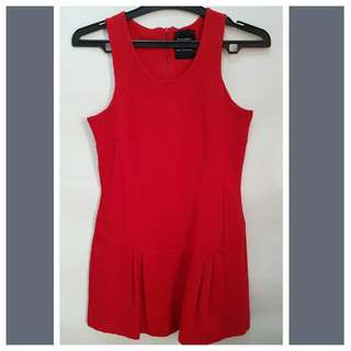 Zara Mini Dress Red