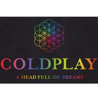Coldplay Ticket Friday 9/12/2016 Arena 1 Standing GOLD