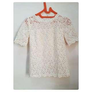 Roem Vintage Lace Blouse