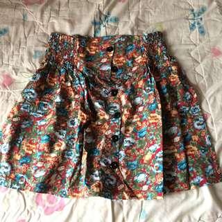 Hardware High Waist Skirt