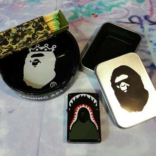 Bape Shark Lighter And Ashtray
