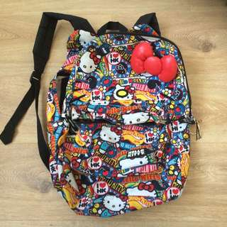 Genuine Hello Kitty Branded Backpack