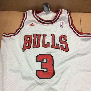 Bulls Basketball Jersey Wallace No.3 M Size