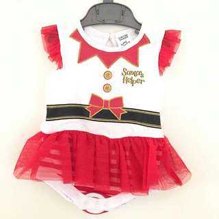 Adorable Christmas Outfit 3-6mos