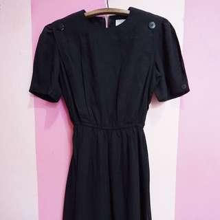 black dress basic