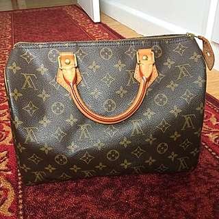 Authentiv Lv Speedy 30 Bag