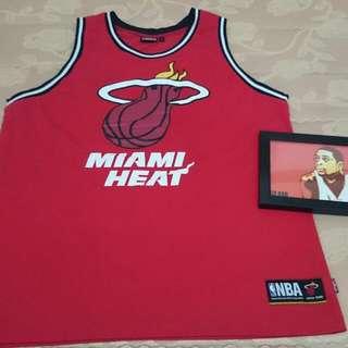 nba Miami heats 熱火 背心 球衣 dwyane wade jersey