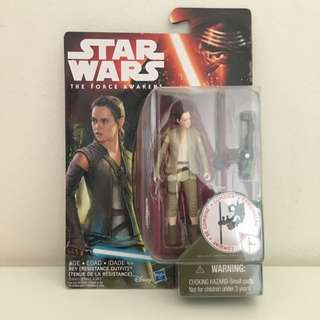 "Hasbro Star Wars 3.75"" Rey (Resistance Outfit)"