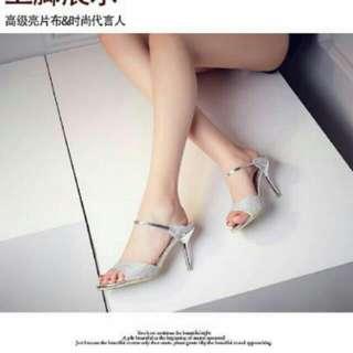 Heels Dubai Silver