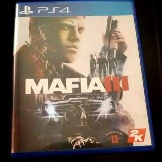 Sony Playstation 4 (PS4) Game: Mafia 3