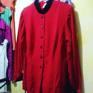 blazer blouse branded