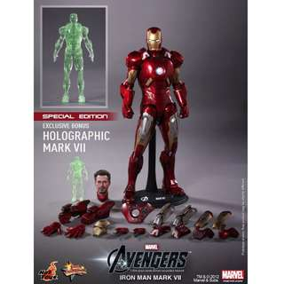 Hot Toys MMS 185 Special Edition - Avengers Iron Man Mk VII [DISPLAYED]