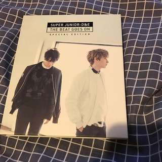 Super Junior D&E The Beat Goes On Special Edition