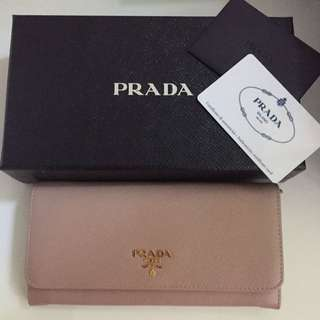 100% Real Prada Wallet