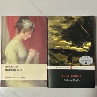 Mansfield Park & Wuthering Heights
