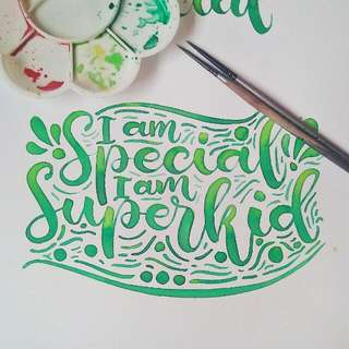 Calligraphy and Hand Lettering Services