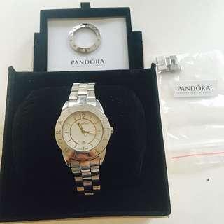 Pandora Watch with additional Crystal Bezel