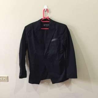 Blazer / Jas Fashion Warna Hitam Size S