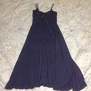 sportsgirl dark blue maxi dress