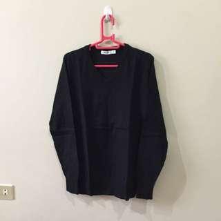 Sweater Baleno Hitam Pekat Size S (booked)