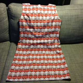 Fun 70s look dress from 'Revival' size 10
